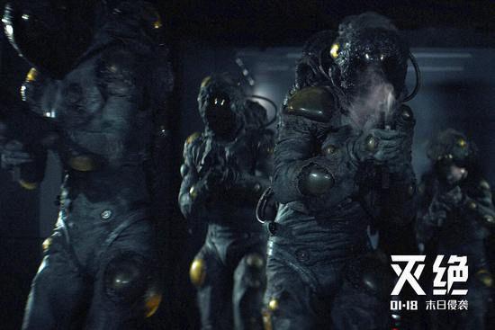 《灭绝》掀科幻热潮 入侵者引爆灭世危机