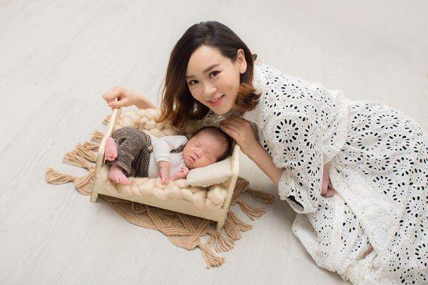 """杨思琦二胎儿子继续随母姓 """"隐形""""老公疼爱不计较"""