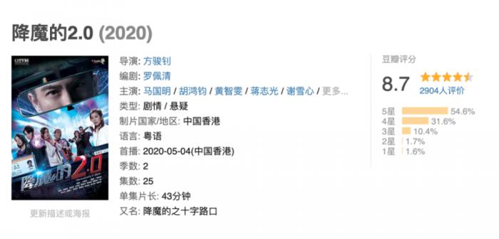 《降魔的2.0》藏着多少彩蛋?TVB剧迷来数数
