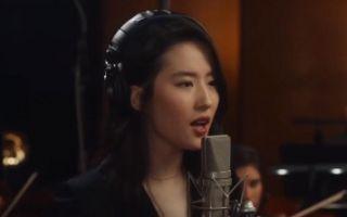 全能女神刘亦菲献唱《花木兰》主题曲《自己》