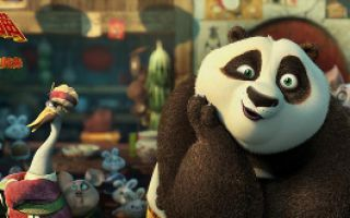 《功夫熊猫3》国际版预告 贱萌阿宝被打小屁屁