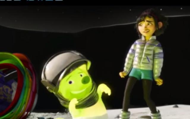 李诞首度配音电影《飞奔去月球》