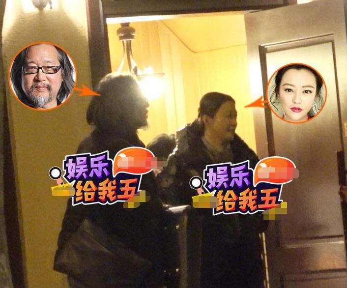 张杰庆功宴与好友热聊 42岁郝蕾搂着导演撒娇身材略显发福