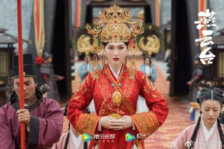唐嫣正式回归,新剧《燕云台》造型曝光