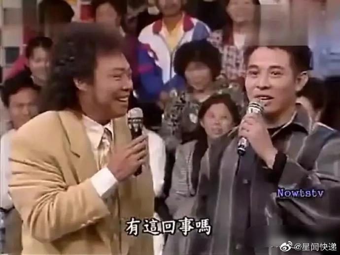 在台湾节目中收放自如的内地明星,恐怕就李连杰自己