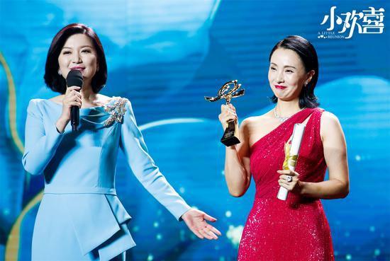 陶虹因《小欢喜》获白玉兰奖最佳女配角