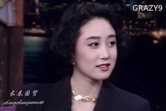 李连杰妻子旧照曝光 五官精致肤白貌美