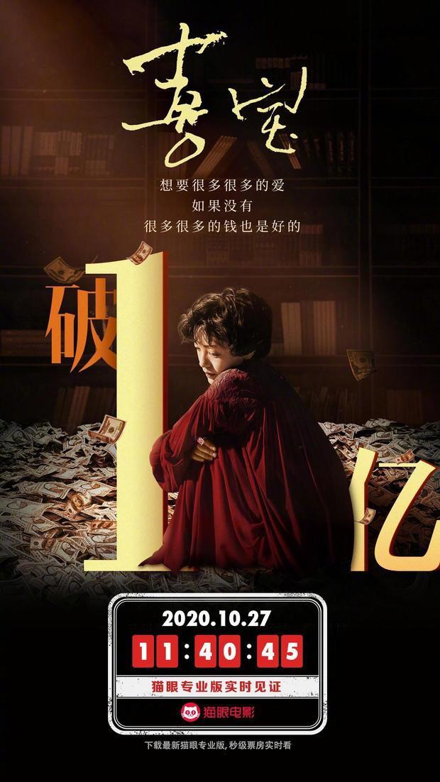 郭采洁主演电影《喜宝》10.27日内地票房破亿