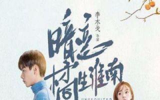 【暗恋橘生淮南预告】11月4日,是洛枳写下盛淮南921.5分的日子。