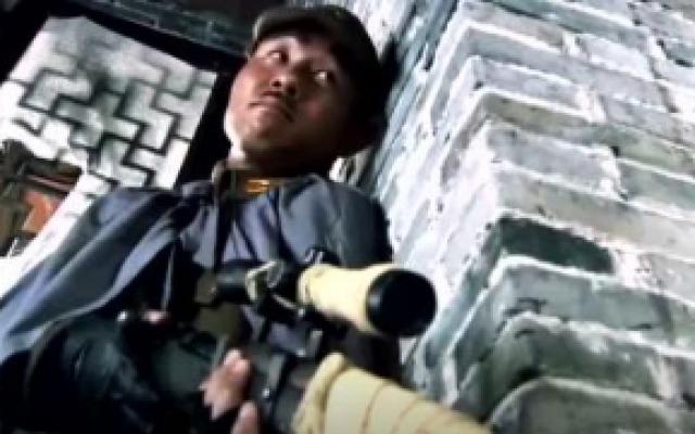 神枪:猎户出身的姑娘,一枪就干掉日军的狙击手